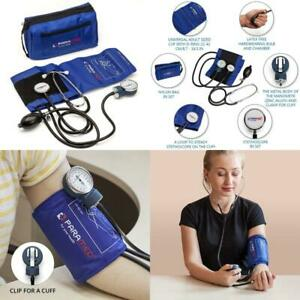 Manual Blood Pressure Cuff By Paramed – Professional Aneroid Sphygmomanometer