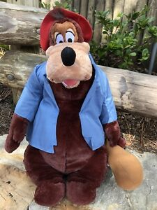 """Disney Parks Splash Mountain Brer Bear Plush Song Of The South New W/tags 18"""""""