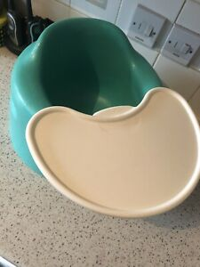 Teal Bumbo Seat With Tray.