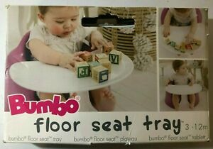 (pre-owned) Bumbo Floor Seat Tray 3-12 Months ((tray Only))