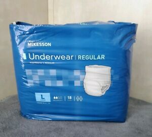 Mckesson Adult Disposable Underwear Ultra Pull On Up L Large Heavy Absorbency 72