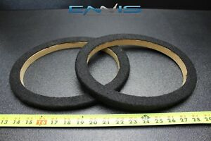 2 Mdf Speaker Rings Spacer 6x9 Inch Carpet Wood 3/4  Fiberglass Ring-69cbk