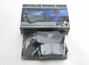 Set Of 4  New G77 Md822 Front Advanced Grade Metallic Formulation Brake Pads