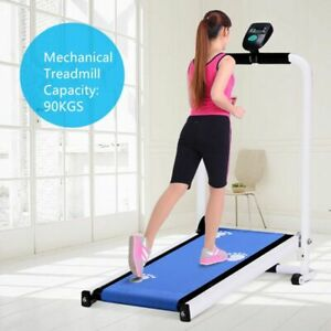 Mechanical Treadmill Machine Non-electric Attention Capacity 90kg Running Sport