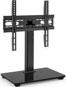 Perlesmith Universal Tv Stand Table Top Tv Stand For 37 55 Inch Lcd Led Tvs