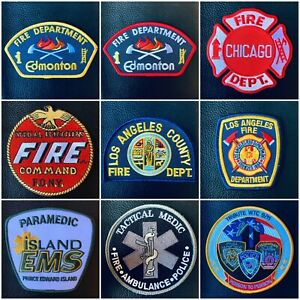 Police, Fire, Ems, Nasa Patches / Badges
