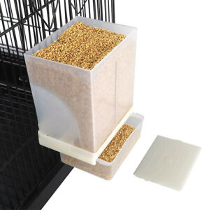 Finyii No-mess Automatic Bird Feeder - Parrot Feeder Cage Accessories Supplies