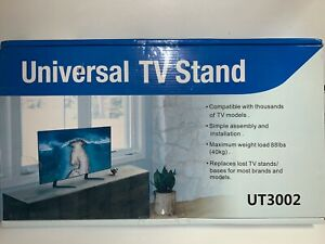 Universal Tv Stand Ut 3002 Fits Most Tv's - 88 Pound Capacity