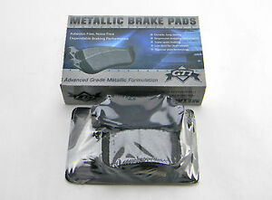 Set Of 4  New G77 Md1326 Rear Advanced Grade Metallic Formulation Brake Pads