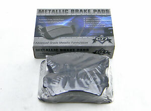 Set Of 4  New G77 Md1164 Front Advanced Grade Metallic Formulation Brake Pads
