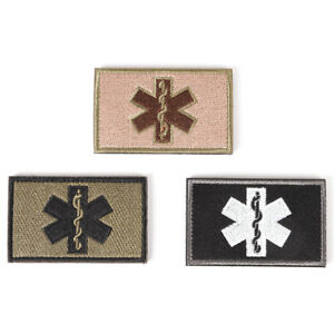 Embroidery Patch Emergency Medical Paramedic Military Tactical Badge Hs
