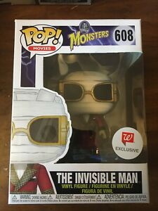 Funko Pop! Universal Monsters The Invisible Man #608 Walgreens Exclusive New