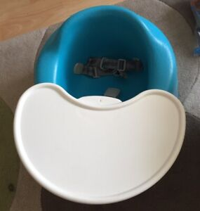 Bumbo Baby Seat With Tray And Straps
