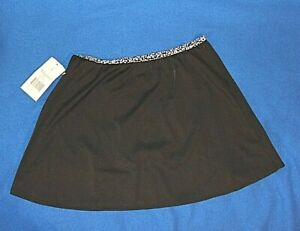 Miraclesuit Black Cover Up Skirt Size S/3,4