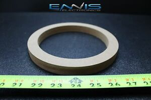 1 Mdf Speaker Rings Spacer 6.5 Inch Wood 3/4 Thick Fiberglass Box Ring-6.5r