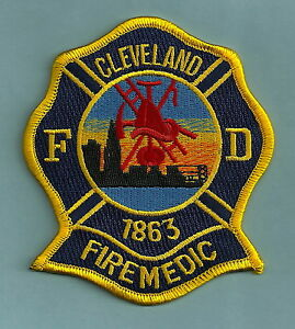 Cleveland Ohio Fire Department Paramedic Patch