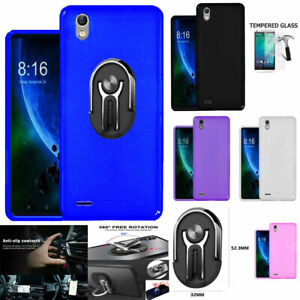 Phone Case For Zte Avid 559 / Tracfone Blade T2 Case Gel Tpu Cover