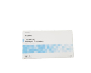 Mckesson Obstetrical Wipe Benzalkonium Chloride Clean Scent ( 2 Size Available)