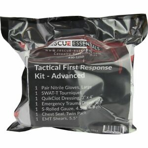 Tactical First Response Kit - Advanced Paramedic Emt Ems First Aid Kit
