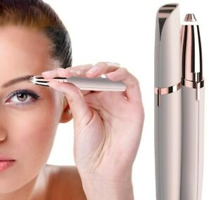 Eyebrow Trimmer Electric Hair Remover Shave Painless Facial Epilator Razor Women
