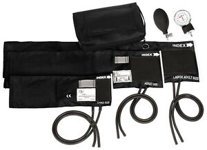 3-in-1 Aneroid Sphygmomanometer Set With Carry Case (6 Color To Choose From)