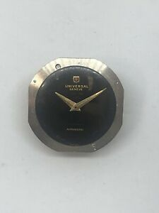 Moviment Universal Geneve  Untomatic  Cal 138 Ss Dial Impecable