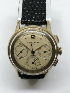 Universal Geneve Compax Cal.287 Ref. 42407 Dial Combined