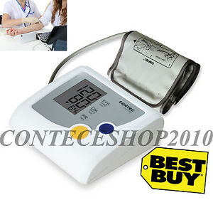 Contec08d Blood Pressure Monitor,electronic Sphygmomanometer,one-key Operation