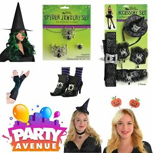 Halloween Accessories Witches Fancy Dress Party Dress Up Costume Lot