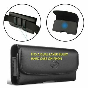 For Samsung Galaxy A10e  Xl Leather Belt Clip Phone Case Holder Loop Holster