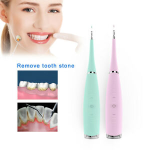 Dental Portable Electric Led Tooth Cleaner Ultrasonic Scaler Calculus Remover