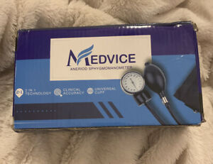 Medvice Manual Blood Pressure Cuff - Universal Size Aneroid Sphygmomanometer