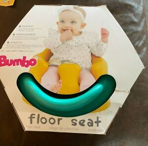 *new* Bumbo Infant Floor Seat Aqua / Blue / Green 3-12m. Condition Is New.