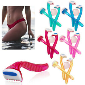 12 Pc Womens Bikini Line Razors Shave Brazilian Hair Shaver Trimmer Legs Arms !