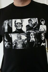 Brand New Universal Monsters Collage T-shirt