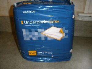 New Mckesson Disposable Underpads Ultra 30