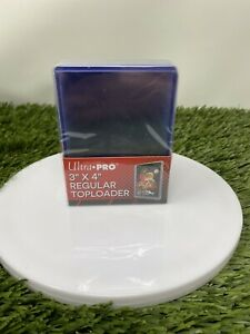 (25) Ultra-pro Toploaders 3x4 Trading Card Holders Regular Hard Case Toploading