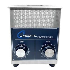 Dysonic 2qt Ultrasonic Cleaner Stainless Steel Heated Jewelry Cleaning W/ Timer