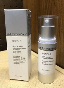 Md Formulations Vit A Plus Night Recovery 1 Fl Oz Alpha Retinyl Complex
