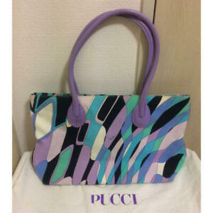 Real Emiriopucci Emilio Pucci Geometric Pattern Tote Bag Available F/s