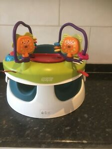Bumbo Mamas And Papas Snug Seat  Floor Seat With Activity Play Food Tray