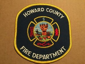 Md - Howard County Maryland  Fire Rescue Department Patch