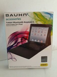 Bauhn  Bluetooth Accessories Keyboard And Case For Ipad 2 3 4  Air Tablet