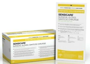 sensicare Size 6 Exp 2022-12  Aloe Latex-free Surgical Glove Qty 100pair