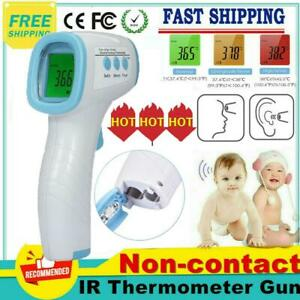 No Touch Infrared Digital Forehead Thermometer Baby Body Temperature Gun fda