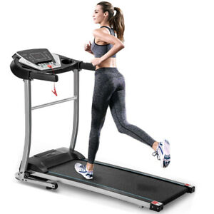Easy Assembly Folding Electric Treadmill Motorized Running Machine Home Gym Mp3
