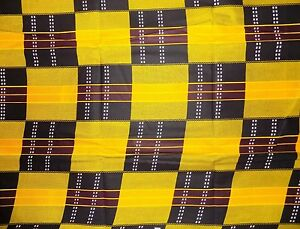 Seconds Kente Print Fabric By 1/2 Yard Contact Us If Trouble Ordering 1166
