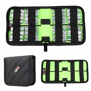 Bubm Travel Padded Universal Compact Case Batterie Charger Cable Memory Card Bag