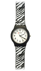 Clearance! Prestige Medical Nurse Scrub Watch Zebra Print Band