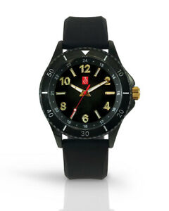 Prestige Medical Nurse Wilshire Premium Silicone Black Unisex Watch